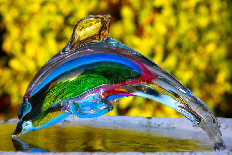 дельфин crystall стоковое изображение rf