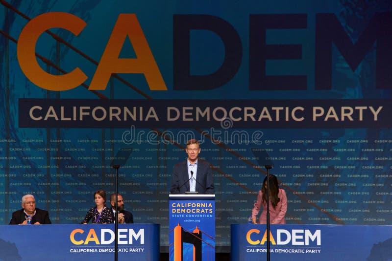 2019 демократичный общенациональный съезд, Сан-Франциско, Калифорния стоковая фотография