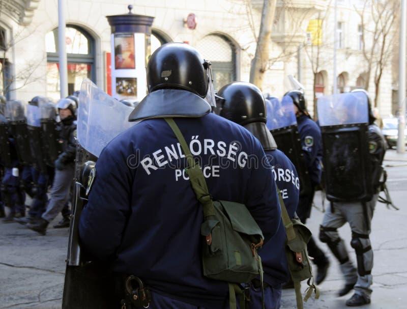 демонстрации budapest стоковые изображения rf