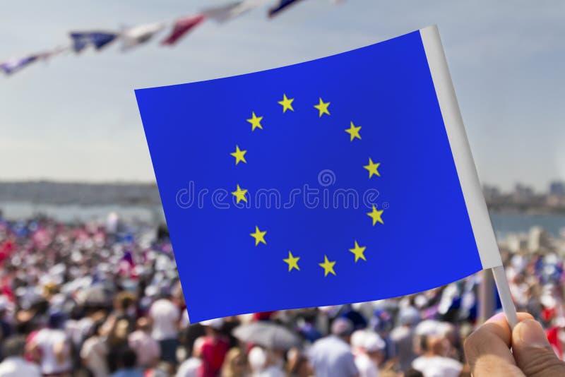 Демонстрации ` s Европы массовые стоковое изображение