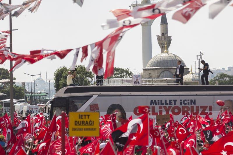 Демонстрации ` s Турции массовые стоковые фото
