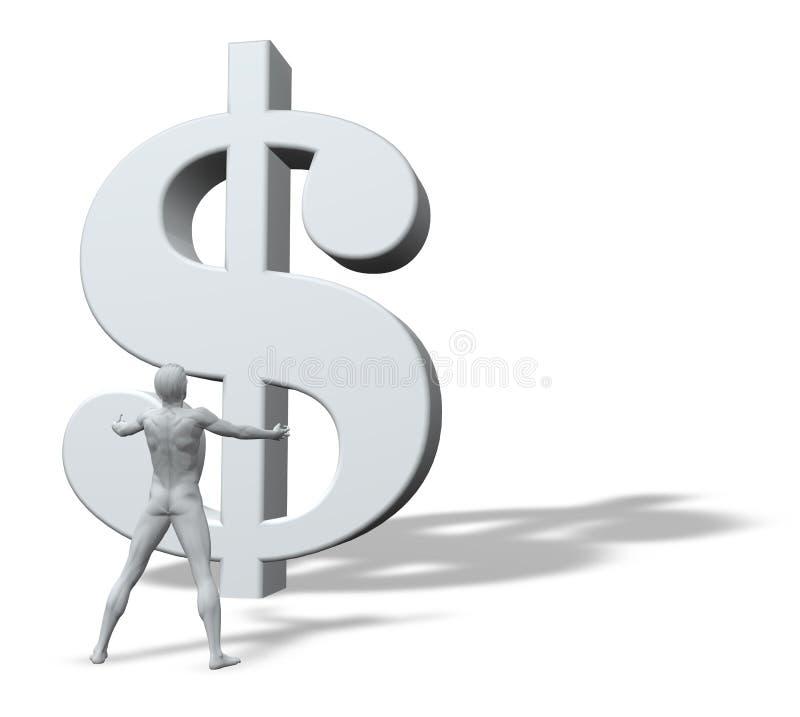 деньги бога бесплатная иллюстрация