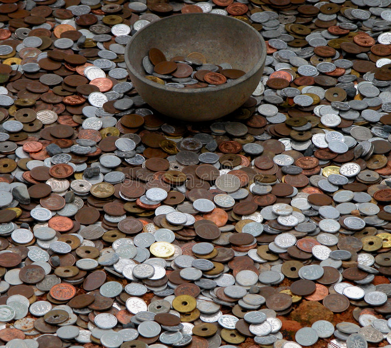 деньги бога стоковые изображения