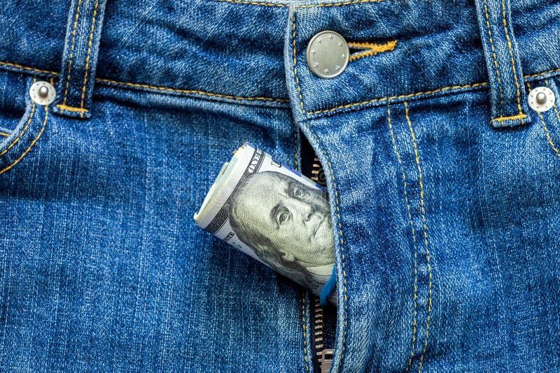 Деньги в молнии стоковое изображение rf
