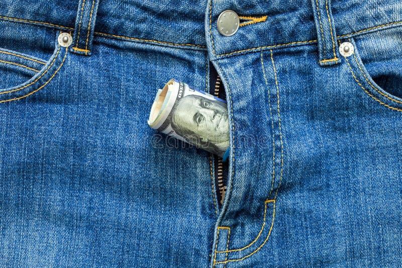 Деньги в молнии стоковые фото
