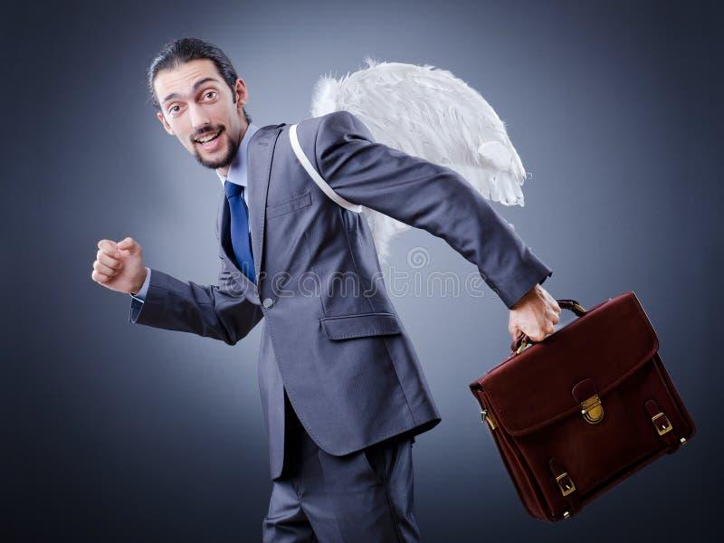 деньги дела ангела стоковая фотография rf
