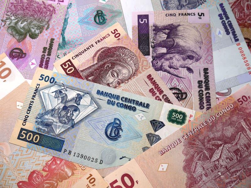 Деньги Демократическая Республика Конго стоковое изображение rf