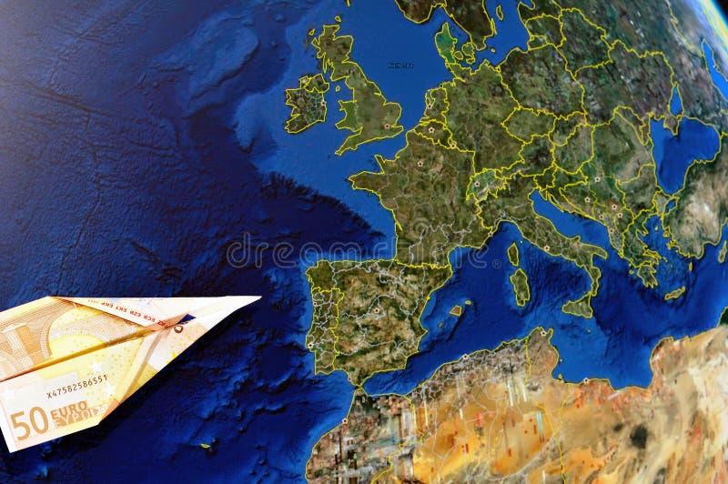 деньги европы стоковое фото