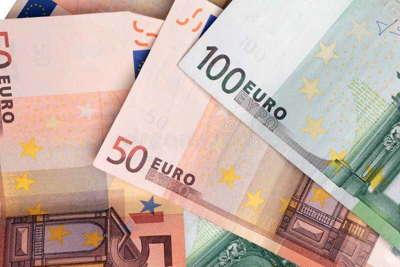 деньги евро кредиток стоковые фото