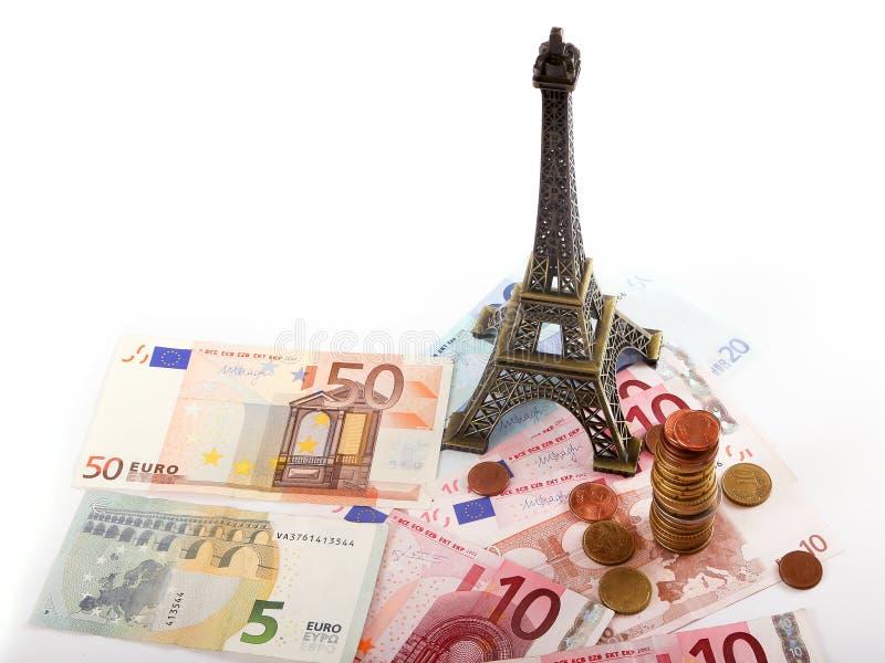 Деньги евро Парижа стоковые фото