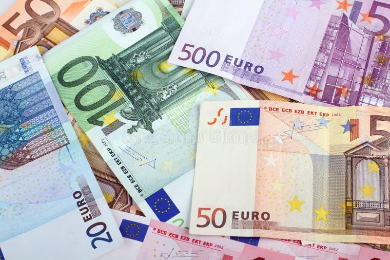 Деньги евро стоковое изображение