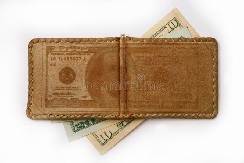 деньги зажима стоковая фотография
