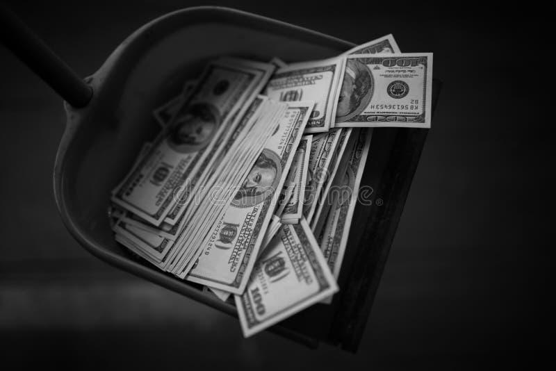 Деньги как отброс стоковое фото rf