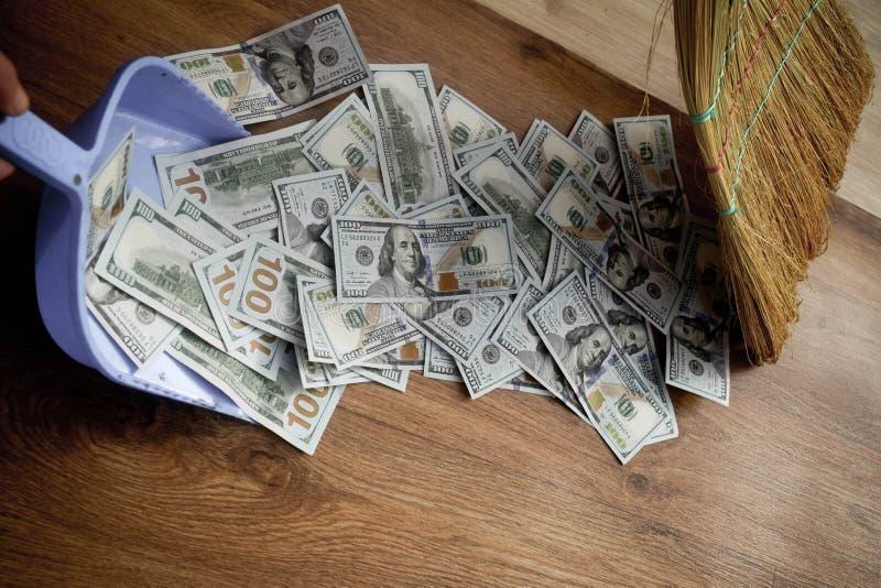Деньги как отброс стоковая фотография