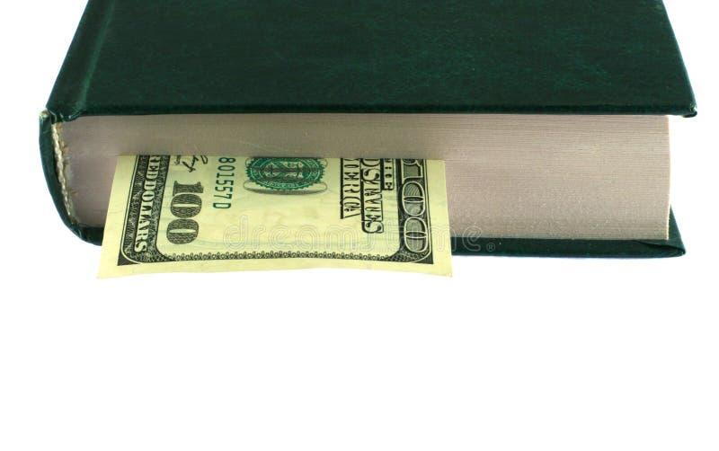 деньги книги стоковые изображения rf