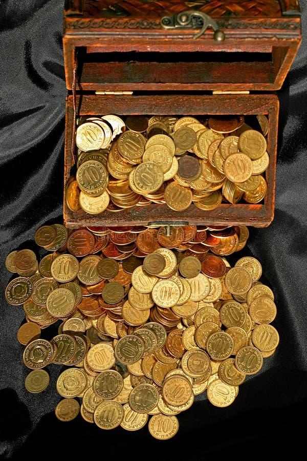 деньги комода стоковое изображение rf