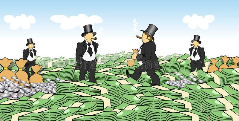 деньги людей бесплатная иллюстрация