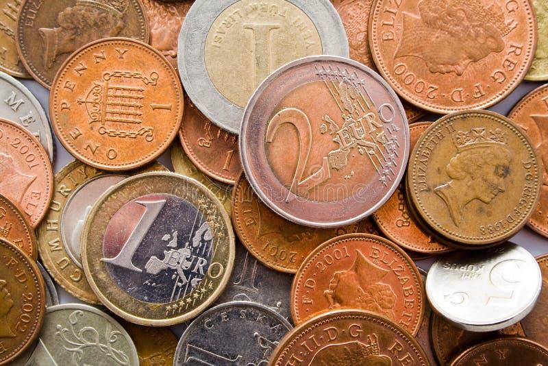 деньги минерала залеми стоковые изображения rf