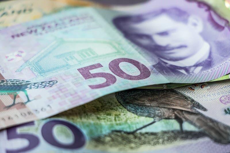 Деньги Новой Зеландии стоковая фотография rf