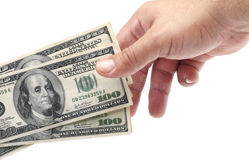 деньги подарка стоковое фото