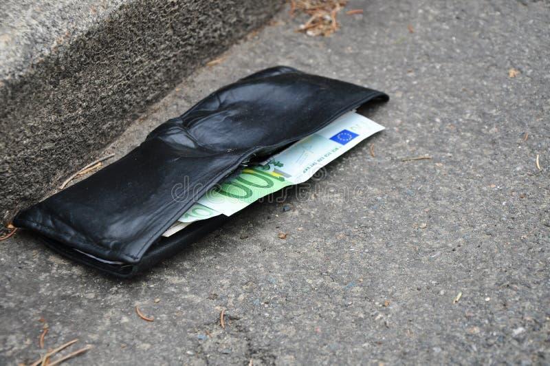 деньги потери банкротства предпосылки стоковые фото