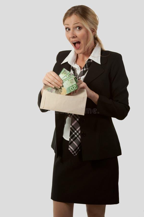 деньги почты стоковые фотографии rf
