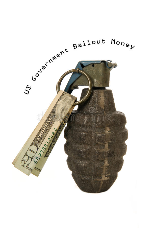 деньги правительства выкупа стоковые фотографии rf