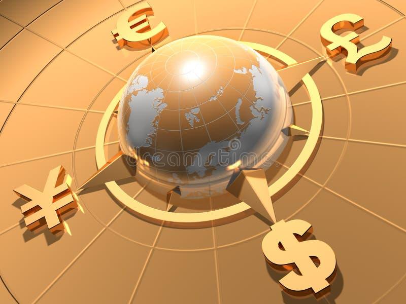 деньги принципиальной схемы иллюстрация вектора