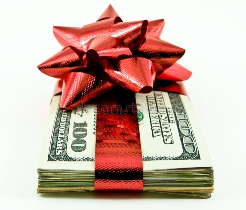 деньги рождества стоковые изображения