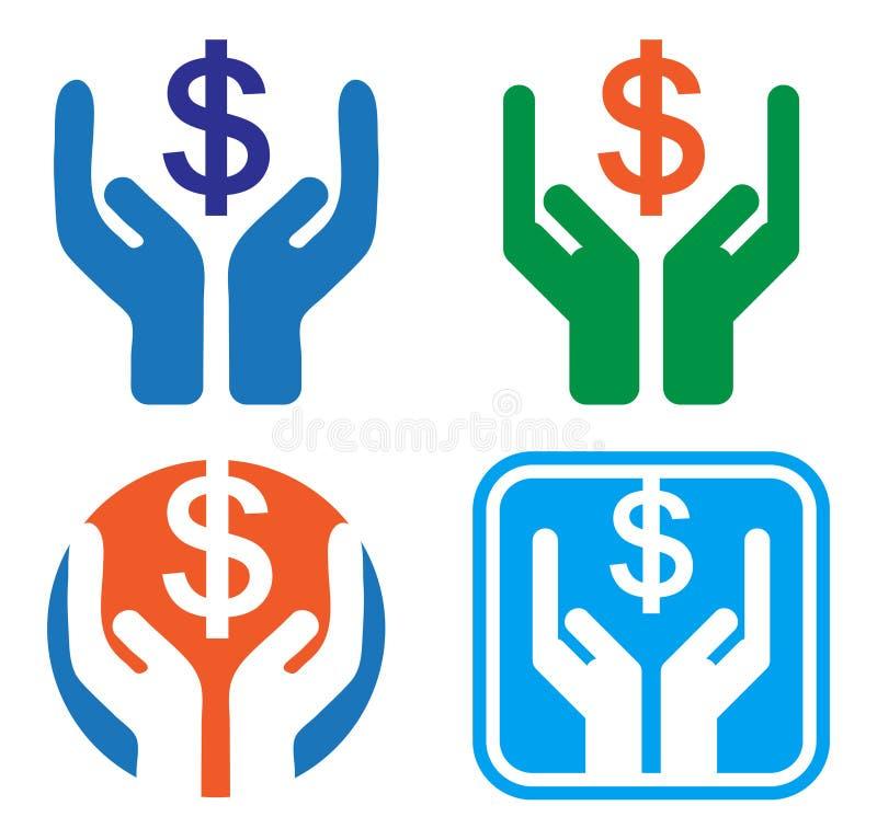 деньги сохраняют бесплатная иллюстрация