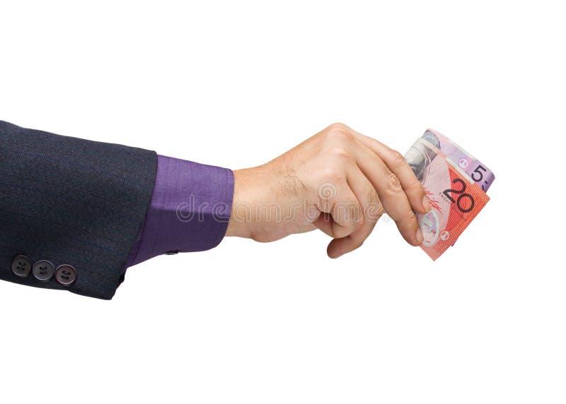 Деньги траты стоковые фото