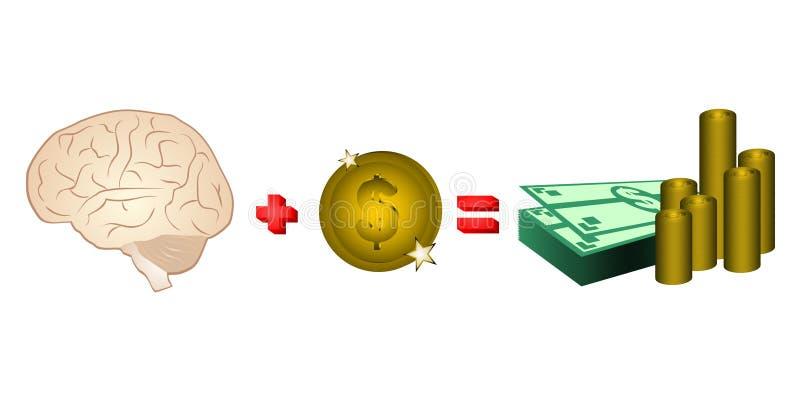 деньги формулы иллюстрация вектора