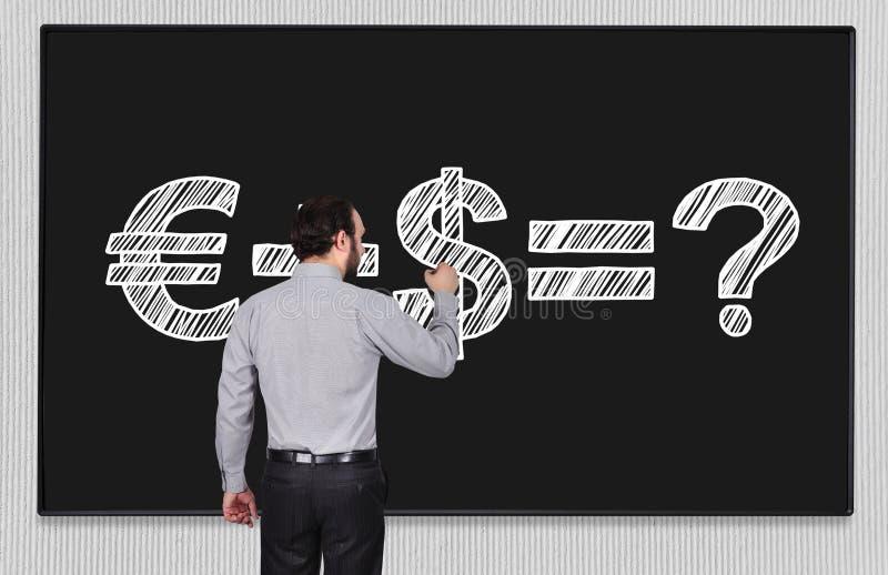 Деньги формулы на классн классном иллюстрация штока