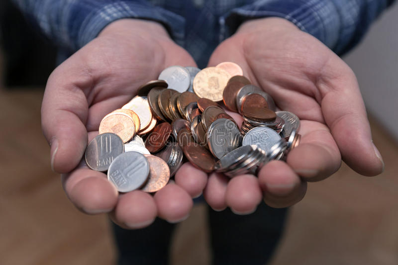 Деньги Pin стоковая фотография rf