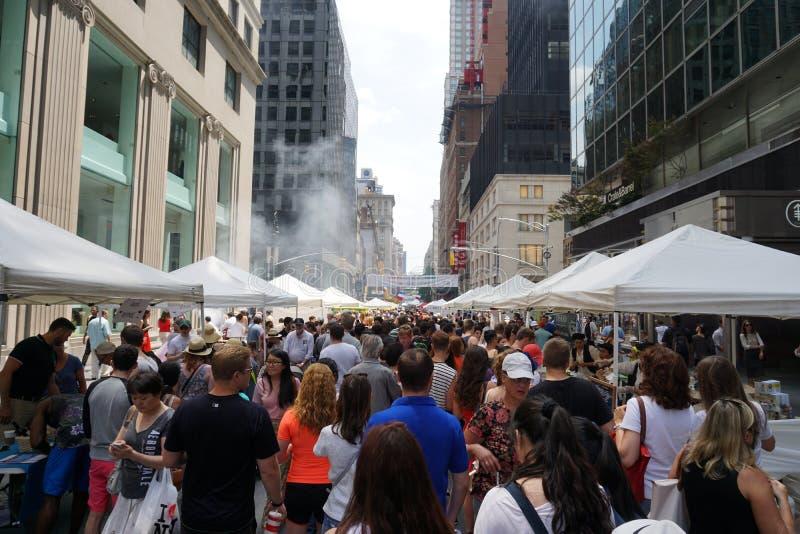 День Бастилии NYC 2015 1 стоковая фотография
