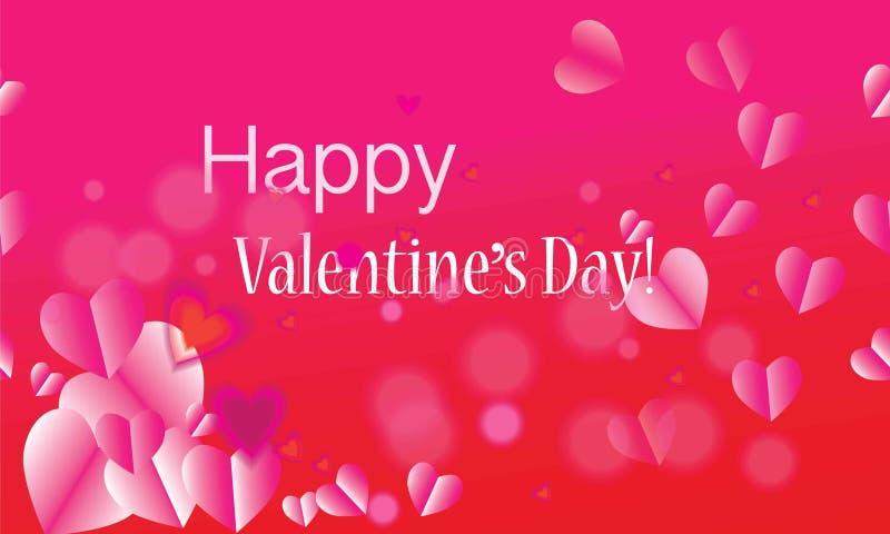 День валентинок, день ` s матери, праздник, день рождения, годовщина, шаблон карточки дня свадьбы Романтичные символы розовый r в бесплатная иллюстрация