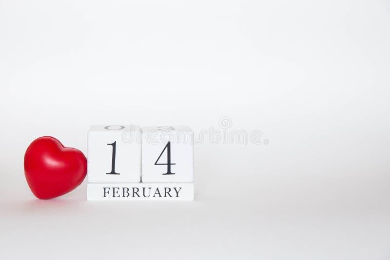 День валентин 14 февраля стоковая фотография rf