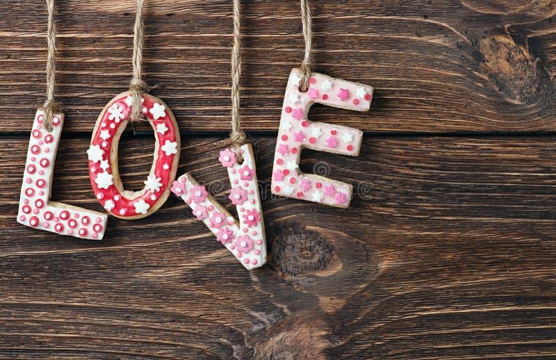 День валентинок печений стоковые изображения