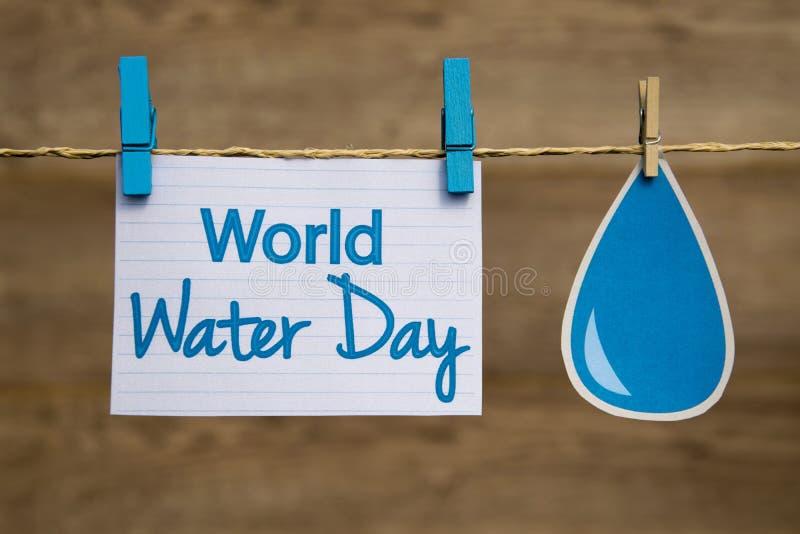 День воды мира стоковое фото rf