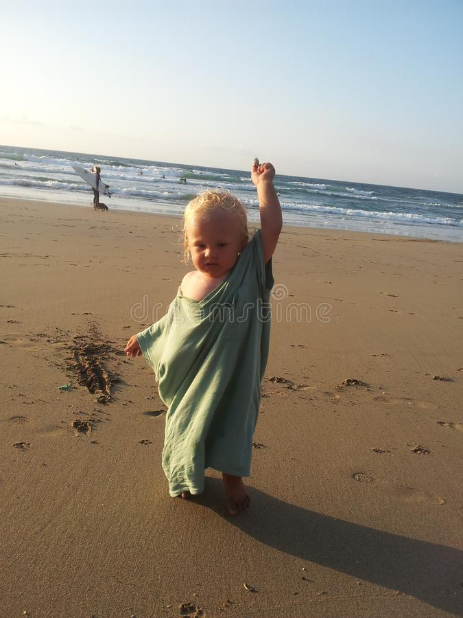 день воды пляжа серфера солнечный стоковые изображения