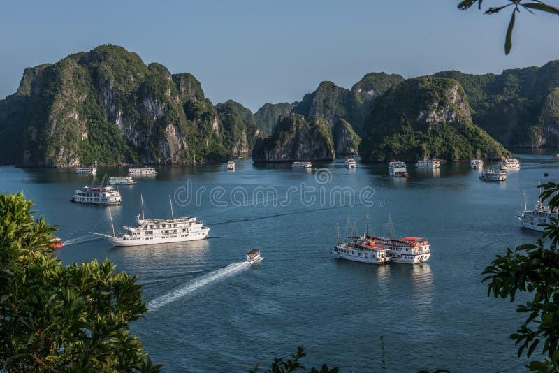 День в заливе Ha длинном стоковая фотография