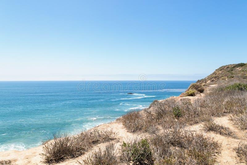 День в пляже Laguna, Калифорния стоковое фото
