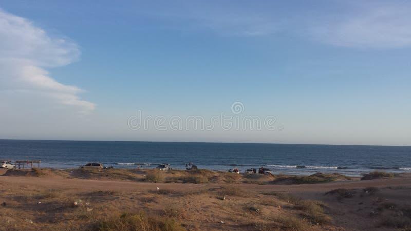 День в пляже стоковое изображение rf