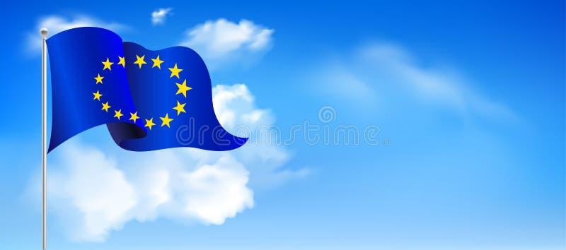 День Европы Ежегодный праздничный день в мае бесплатная иллюстрация