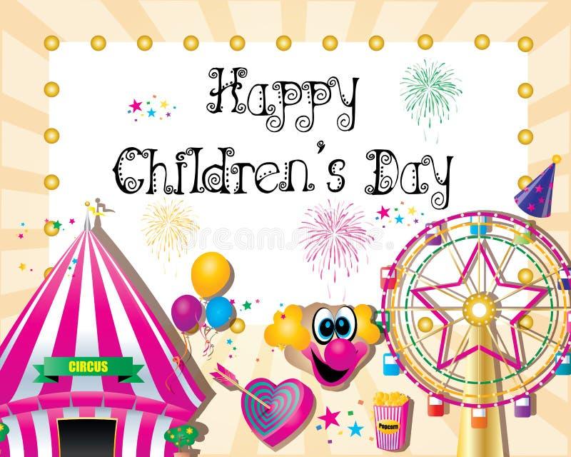 День детей иллюстрация вектора
