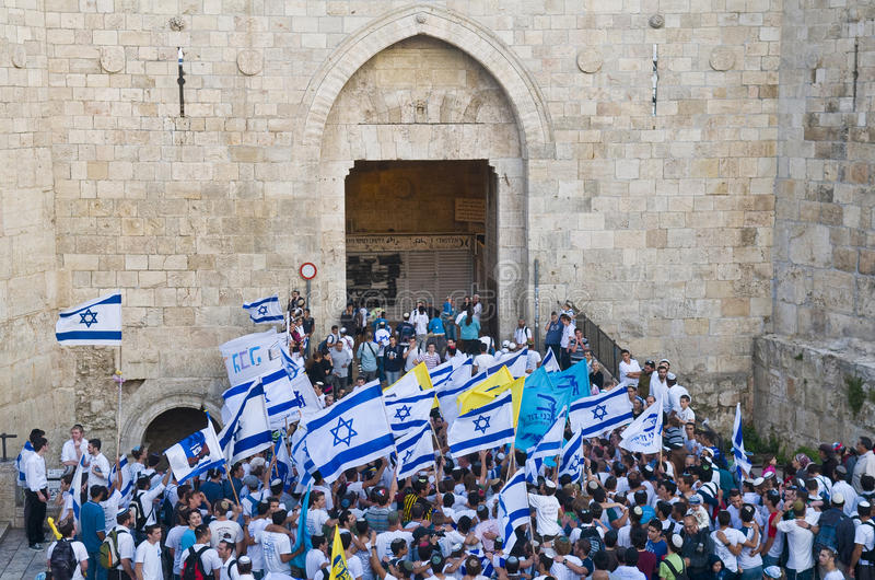 день Иерусалим стоковая фотография