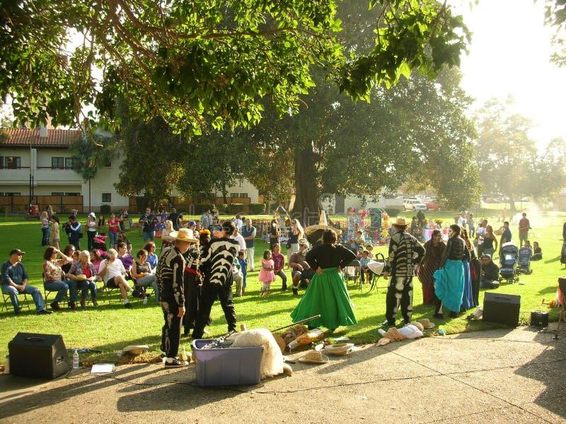День мертвого мексиканского ацтека праздника стоковое изображение