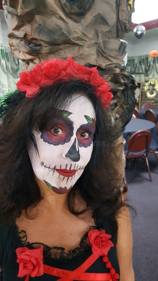 день мертвого хеллоуина стоковое изображение rf