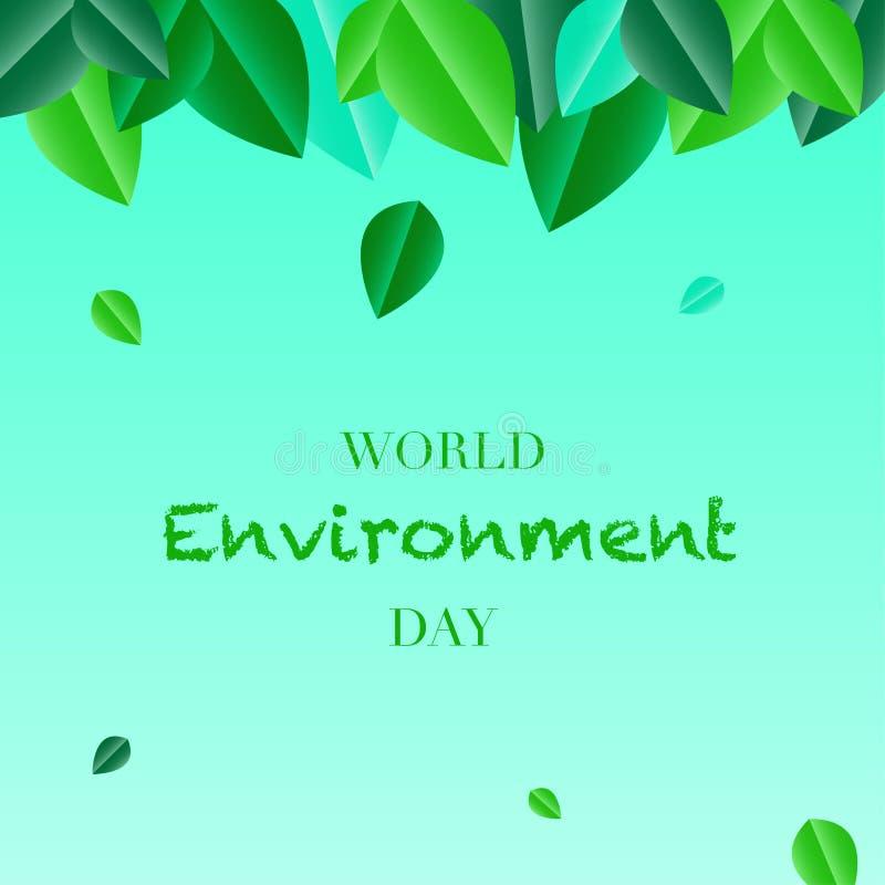 День мировой окружающей среды бесплатная иллюстрация