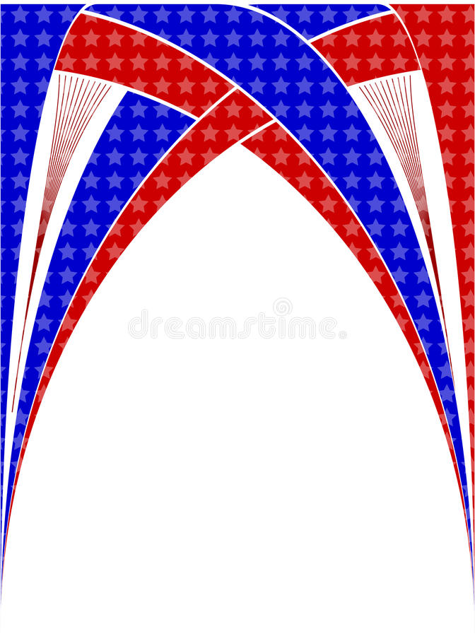 День независимости, знамя бесплатная иллюстрация